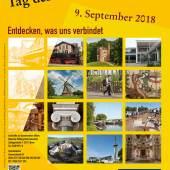 Plakat 25 Jahre Tag des offenen Denkmals am 9. September 2018