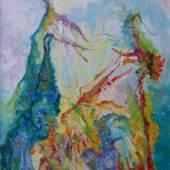 Bernard Schultze | Innere Landschaft 2 | 50 x 70 cm | Mischtechnik