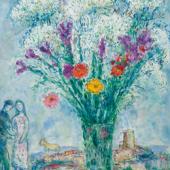 MPRESSIONISMUS & MODERNE    Marc Chagall  Schätzung: CHF 800 000/1,4 Mio. Ergebnis: CHF 1,58 Mio.