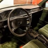 Manfred Rommels Mercedes 190E, Innenansicht