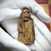 The Lewis Chessmen: 'A Window into the Medieval World'   A Newly-Discovered Warder Appears at Auction   *Bought for £5 by an Antiques Dealer in Edinburgh in the 1960s* *Estimated to Bring £600,000-1,000,000*