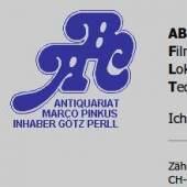 Unternehmenslogo ABC ANTIQUARIAT MARCO PINKUS ZÜRICH