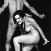 Foto aus Rosa von Praunheims Film Anita - Tänze des Lasters, 1988 Darsteller Ina Blum als Anita Berber, Mikael Honesseau als Sebastian Droste Foto © Elfi Mikesch