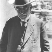 Aby Warburg, Neapel, Mai 1929 Foto: The Warburg Institute