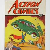 Action Comics No. 1, the first appearance of Superman, June 1938
