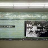 Deutschland wird deutscher XLI-92, 1992 © Katharina Sieverding, VG Bild-Kunst, Bonn 2017 © Foto: studio111a