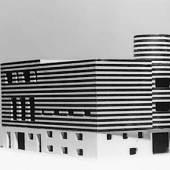 Adolf Loos, Haus Josephine Baker, Paris XVI, Avenue Bugeaud, Frankreich (Projekt für den Um- und Zusammenbau zweier bestehender Häuser), 1927 Modell © ALBERTINA, Wien