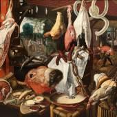 Pieter Aertsen Die Fleischauslage, 1551-55 Öl auf Holz, 151 x 202 x 8,5 cm Bonnefantenmuseum, Maastricht