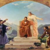 Agostino Caironi: Die Dankbarkeit der Bürger, 1859 Öl auf Leinwand ©Archivio Fotografico Villa Vigoni