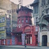 Albert Kahn, Les archives de la planète, Stéphane Passet, Frankreich, Paris, XVIII. arr., boulevard de Clichy, Le Moulin Rouge, Juni-Juli 1914
