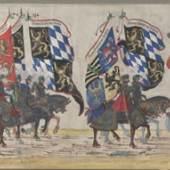 Albrecht Altdorfer Die deutschen Fürsten © Albertina, Wien