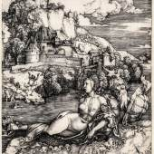 Albrecht Dürer (1471 – 1528): Das Meerwunder, um 1498, Kupferstich, Kupferstichkabinett der Akademie der bildenden Künste Wien