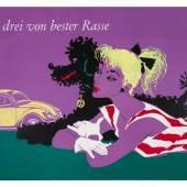 Donald Brun, VW-Werbeplakat »Alle drei von bester Rasse«, 1952  © Volkswagen Aktiengesellschaft 2016 Foto: Marc Stantien