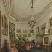 ALT, Franz 1821 - 1914 Wiener Biedermeiersalon 1849 € 5.000 -8.000