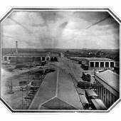 Altonaer Bahnhof, Daguerreotypie von Stelzner, Sommer 1844