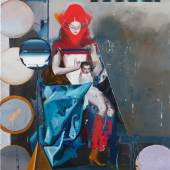 "Rayk Goetze  (geb. 1964) ""Madonna (Set)"" Öl und Acryl auf Leinwand, 2018,100 x 80 cm Foto: © Rayk Goetze Amart Austrian Modern Art"