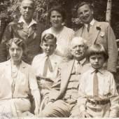 An Oppenheimer family Portrait, taken in the mid-1930s