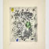 André Breton, Constellations, 1959, Collection Pierre et Geneviève Hebey - © Artcurial