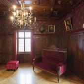 Das Hediger-Zimmer: auf den Spuren der letzten Besitzerfamilie Foto: Andri Stadler