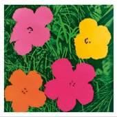 Andy Warhol flowers gross
