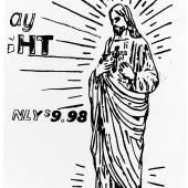 Andy Warhol, Christ $9.98 (Positive), 1985-1986