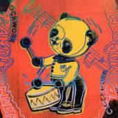 ANDY WARHOL Clockwork Panda Drummer (aus Toy Series). 1983. Synthetisches Polymer und Siebdruck auf Leinwand. 35,5 x 27,7 cm. CHF 80 000 bis 140 000