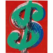 Andy Warhol_Dollar Sign_£200,000-300,000