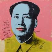 Andy Warhol Mao-tse-Tung, 1972 Siebdruck Albertina, Wien – Dauerleihgabe Österreichische Ludwig-Stiftung für Kunst und Wissenschaft © The Andy Warhol Foundation for the Visual Arts, Inc. / Licensed by Bildrecht Wien, 2019
