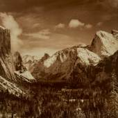 Grand Tetons and the Snake River, Grand Teton National Park, Wyoming, 1942 (below, estimate $400/600,000)