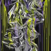 Bitte klicken Sie das Bild für eine vergrößerte Ansicht Ohne Titel, 2012. Mischtechnik auf Leinwand, Acrylglas 182 x 122 x 26 cm. © Anselm Reyle