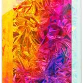 Ohne Titel, 2011. Mischtechnik auf Leinwand, Acrylglas 182 x 122 x 26 cm. © Anselm Reyle