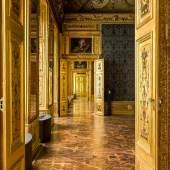 Winterpalais  Blick in den Blauen Salon Foto: Oskar Schmidt, © Belvedere, Wien