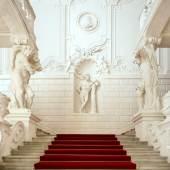 Winterpalais  Die Prunkstiege  Foto: Oskar Schmidt, © Belvedere, Wien