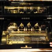 Ein technischer Leckerbissen ist diese mechanische Spieluhr auf den Kunst- und Antiquitäten-Tagen. Foto: Peter Grewer