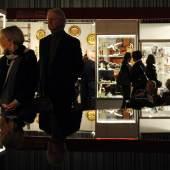 Gut gestartet sind die 36. Kunst- und Antiquitäten-Tage in Münster. Mehr als 1.600 Kunstfreunde und Sammler auf der Vernissage bedeuten einen Besucherrekord. Foto: Peter Grewer