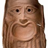 Stirnziegel (antefix) aus Flavia Solva, ins. XXII  4. Jh. n. Chr., UMJ, Archäologie & Münzkabinett Foto: UMJ / N. Lackner