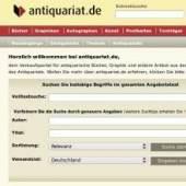 Unternehmenslogo antiquariat.de