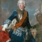 Freidrich der Große als Kronprinz, 1736 Antoine Pesne, Foto: Roland Handrick © SPSG