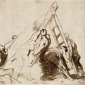 Anton van Dyck Die Kreuzigung Petri, um 1620 Albertina, Wien