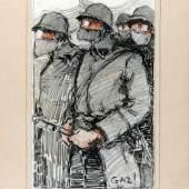 Robert Antral, Gas!, Musée des Beaux - Arts Reims