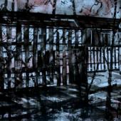 Scott Tulay. Kohlefeuerung. 2009. Kohle, Pastell, Graphitstift, Tusche auf Zeichenkarton, 710x960 mm © Scott Tulay