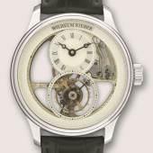 o.Nr. Armbanduhr mit Chronometerhemmung und fliegendem Tourbillon Wilhelm Rieber Pforzheim, 2015
