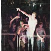 Arthur Metz, Let there be Light (die modernen Messen I), 2019, Aquarell auf Papier, 270 x 190 cm