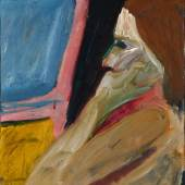GIRL IN PROFILE RICHARD DIEBENKORN Edward Tyler Nahem Fine Art