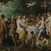 THE WEDDING FEAST OF PELEUS AND TETIS HENDRICK VAN BALEN Arnoldi-Livie