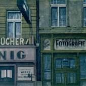 Franz Zadrazil , Bücherkönig, 1978, Radierung