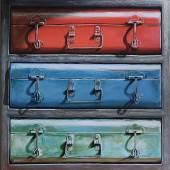 Assar Art Gallery - Mojiba Tajik - From the Wooden Boxes series, 2015
