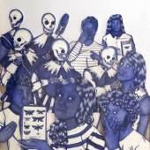 Assunta Abdel Azim Mohamed Somnium, 2019 Mischtechnik 60 x 50 cm EUR 3.000,00
