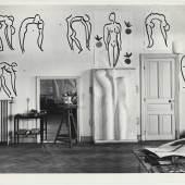 Atelier de Matisse dans l'ancien hôtel Regina de Cimiez (Nice), 1953 Archives Henri Matisse, Issy-les-Moulineaux © Succession Henri Matisse / 2019 ProLitteris, Zurich