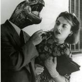 Grete Stern Sueno N° 28, Buenos Aires, 1951 (Traum Nr. 28) Silbergelatineabzug auf Barytpapier Fotomontage, Reprint Museum Folkwang, Essen